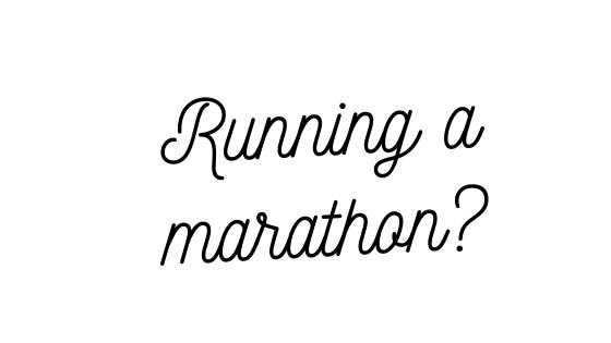 Why I'm Running the LondonMarathon
