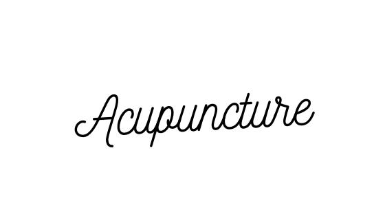 Acupuncture. Part 1.